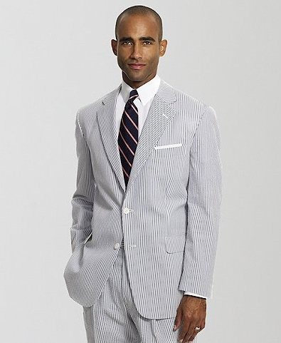 Madison Seersucker Suit by Brooks Brothers