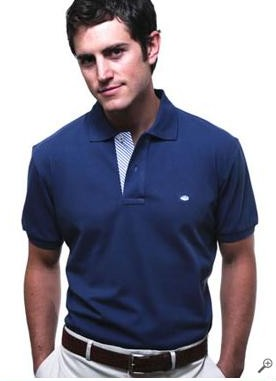 Southern Tide Seersucker Polo