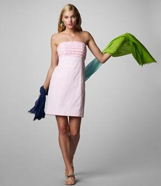 Lilly Pulitzer Franco Dress Seersucker
