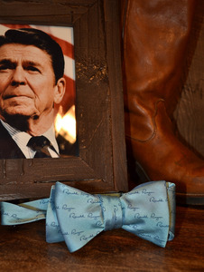 Buffalo and Company Ronald Reagan Signature Bow Tie
