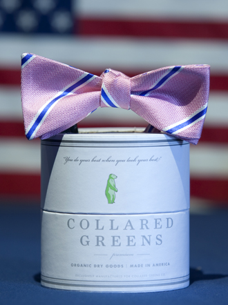 Collared Greens The James Bow Tie