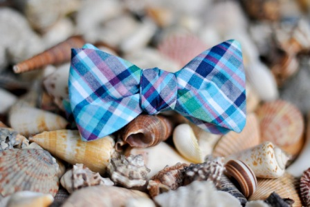 High Cotton Ties Beaufort Madras Bow Tie