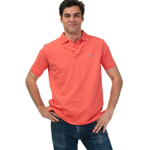 Anchored Style Coral Reef Polo