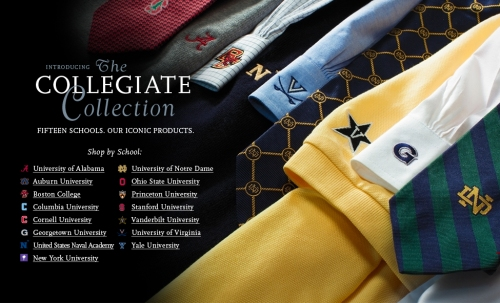 Brooks Brothers Collegiate Collection