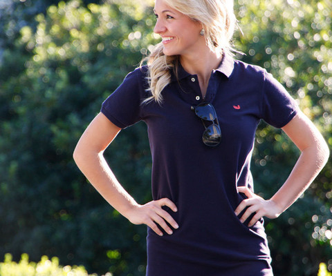 Southern Marsh Polo Dress