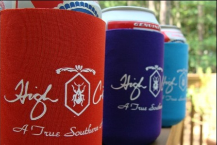 High Cotton Ties Koozies