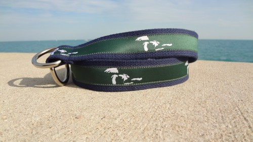 Chicago Belt Co Great Lakes Ribbon Belt