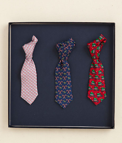 Vineyard Vines Mini Tie Ornaments