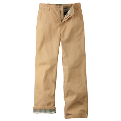 Mountain Khakis Flannel-Lined Original Mountain Pant