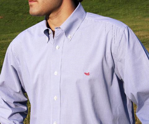 Southern Marsh Gadwall Gingham Shirt