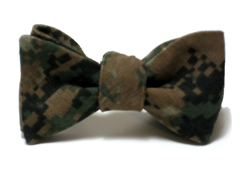 Starboard Clothing Cpl. Spires Digital Camo Beau Bow Tie
