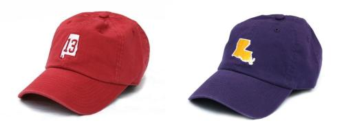 State Traditions Alabama and LSU Hats