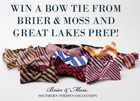 Brier and Moss Bow Tie Giveaway