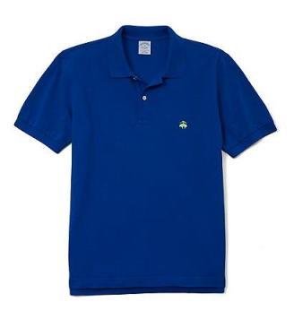 Brooks Brothers Deep Ultramarine Slim-Fit Polo