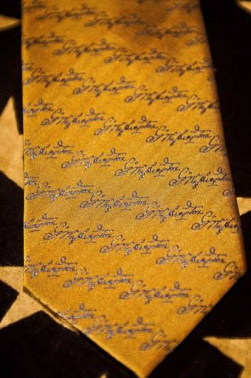 Buffalo & Company George Washington Signature Necktie