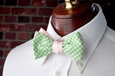 High Cotton Ties Avery Reversible Bow Tie