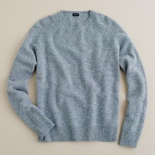 J. Crew Marled Lambswool Sweater