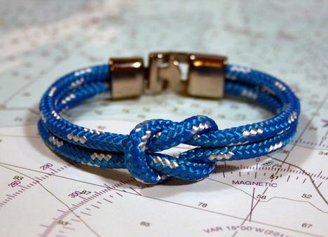 Lemon and Line Newport Blue Bracelet