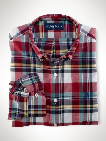 Polo Ralph Lauren Custom Fit Madras Shirt