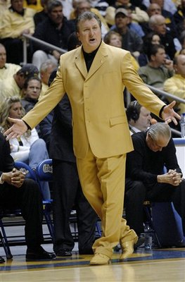 Bob Huggins Yellow Suit