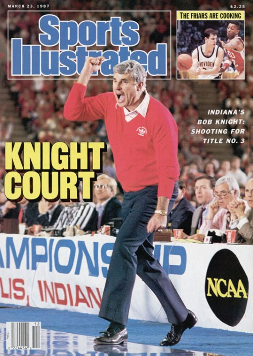 Bobby Knight IU Sports Illustrated Cover