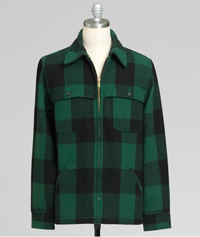 LL Bean Signature Bean's Stag Jacket Plaid