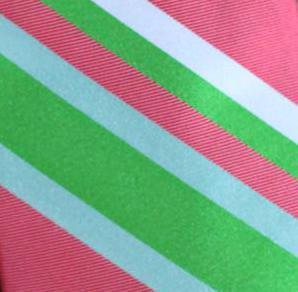 Southern Proper Southern Stripe Beau Watermelon Bow Tie