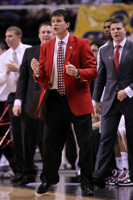 Steve Alford Red Blazer