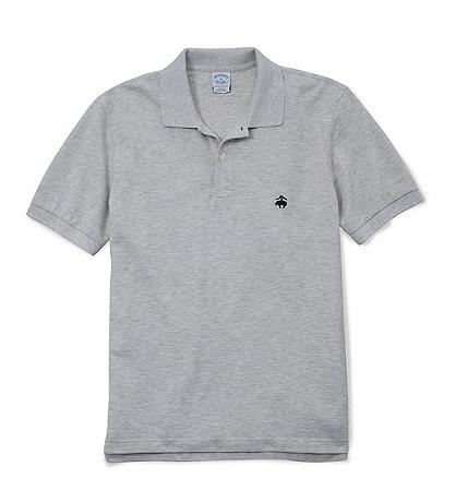 Brooks Brothers Golden Fleece Slim Fit Novelty Performance Polo