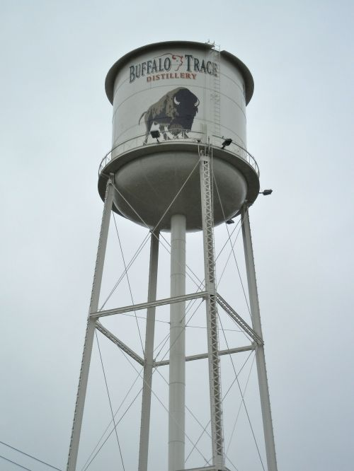 Buffalo Trace Watertower