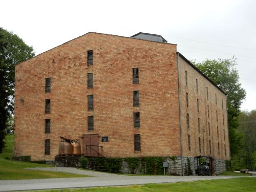 Empty Woodford Reserve Warehouse