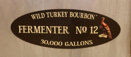 Wild Turkey Fermenter