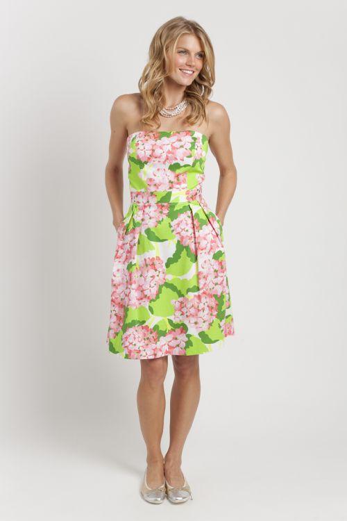 Elizabeth McKay Strapless Dress