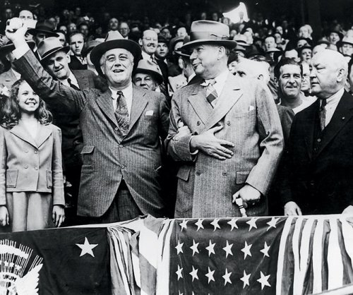Franklin Roosevelt First Pitch 1941