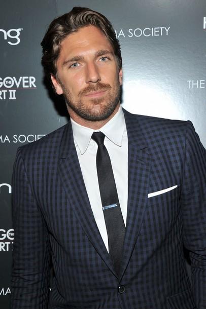 Henrik Lundvquist Blue Check Suit