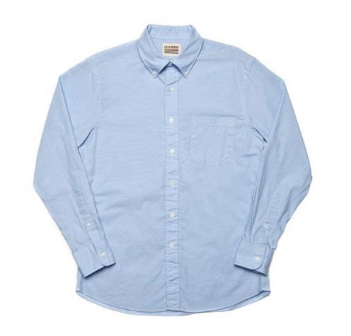 Jack Robie James Blue Chambray Shirt