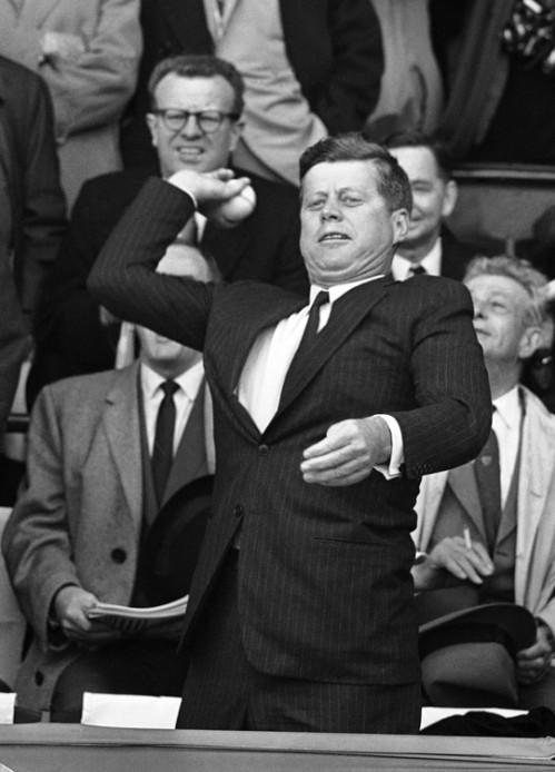 JFK 1961 First Pitch