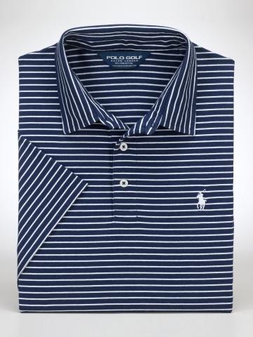 Polo Golf Striped Vintage Lisle Polo
