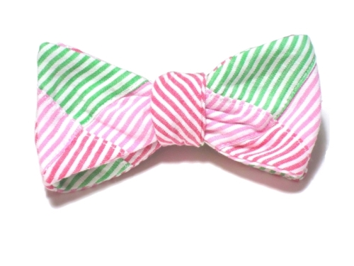Starboard Clothing Palm Beach Patchwork Beau Bow Tie