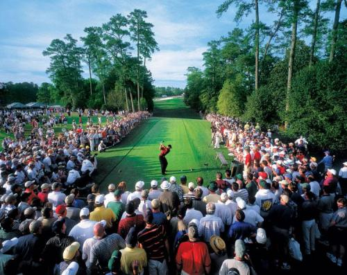 Tiger Woods 2001 Masters Tiger Slam