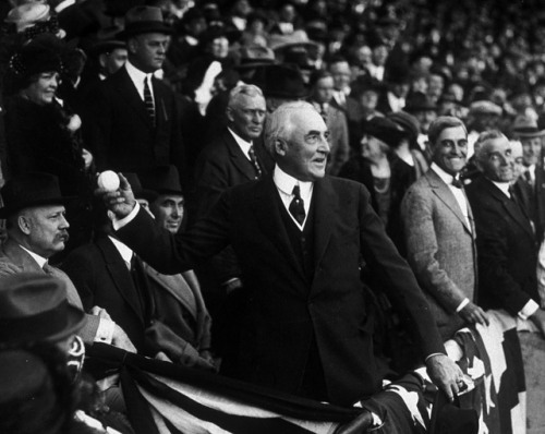 Warren Harding 1922 First Pich