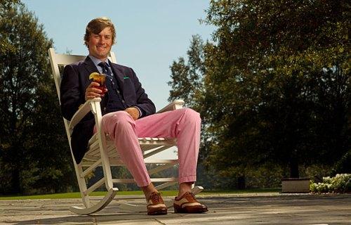 Webb Simpson Pink Pants