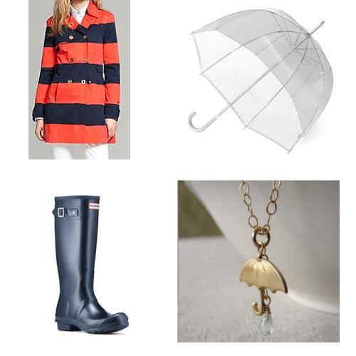 Women's Rainy Day Style