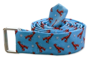 Bird Dog Bay Lobster Pound Silk Belt