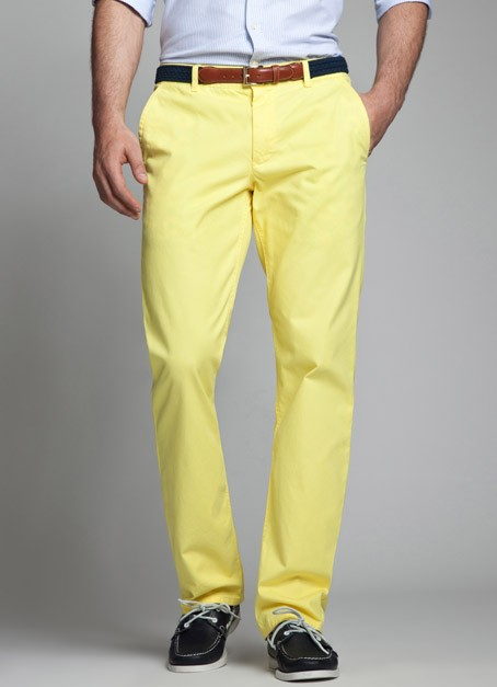 Bonobos Limoncello Yellow Pants