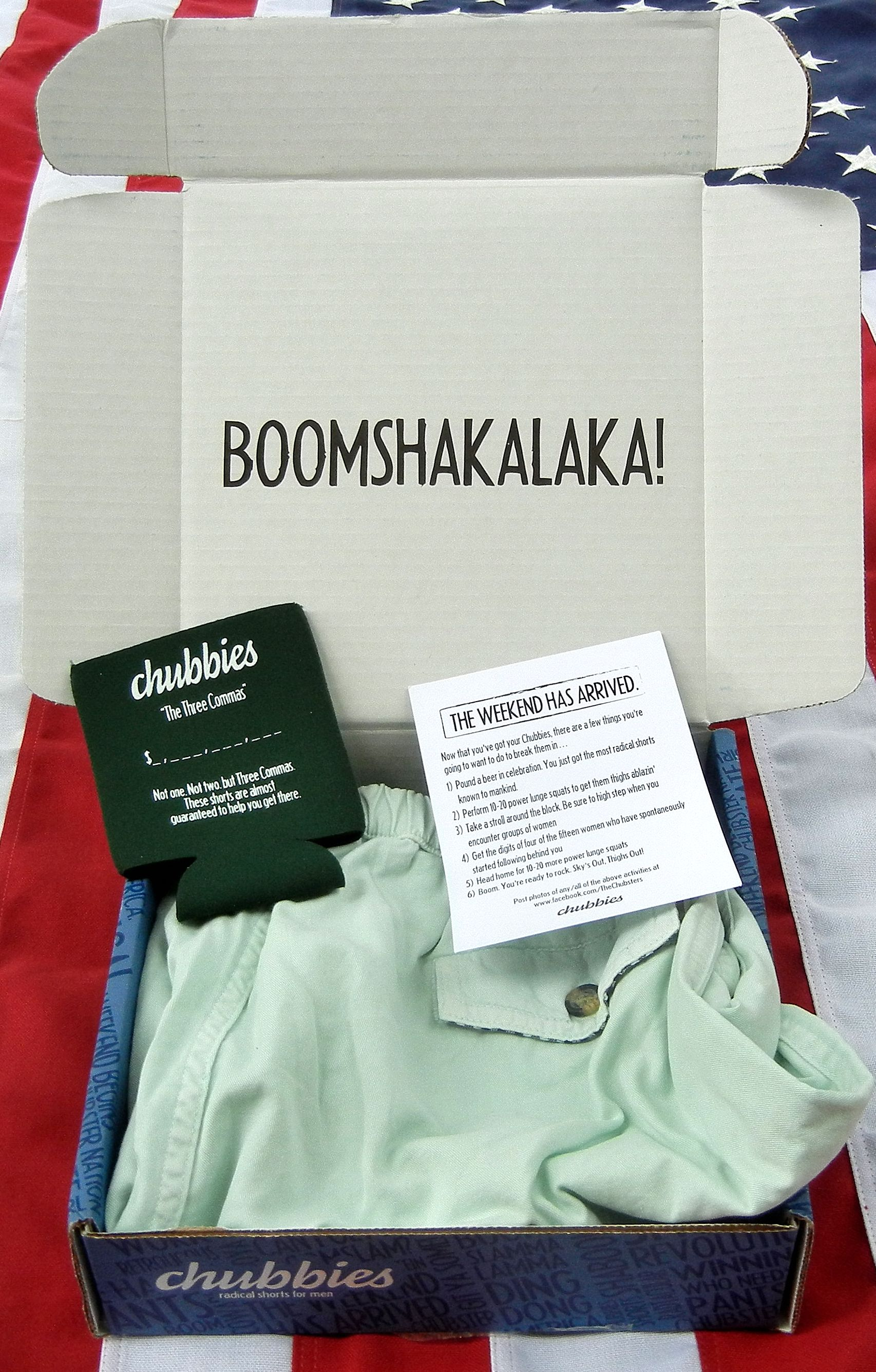 Chubbies Shorts Inseam Koozie