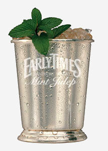 Early Times Mint Julep
