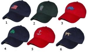 Smathers and Branson Needlepoint Hats