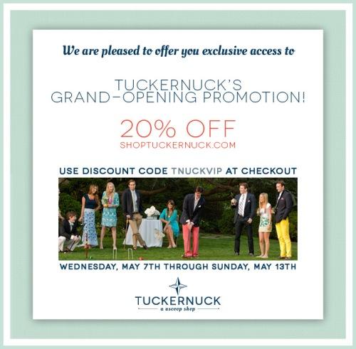 Tuckernuck Discount Code