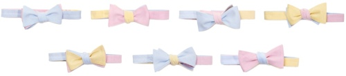 Dolbeau Go-to-Hell Multicolor Bow Tie Seven Ways